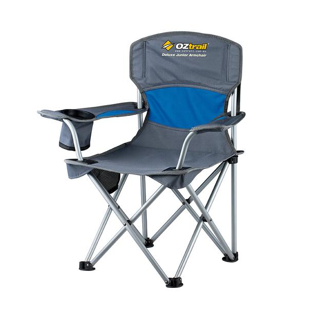 OZtrail Deluxe Junior Chair - Blue