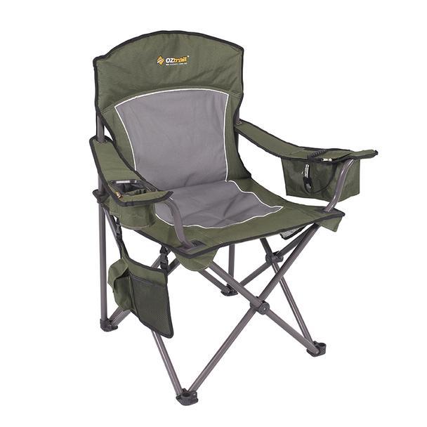 OZtrail Regal Arm Chair Green