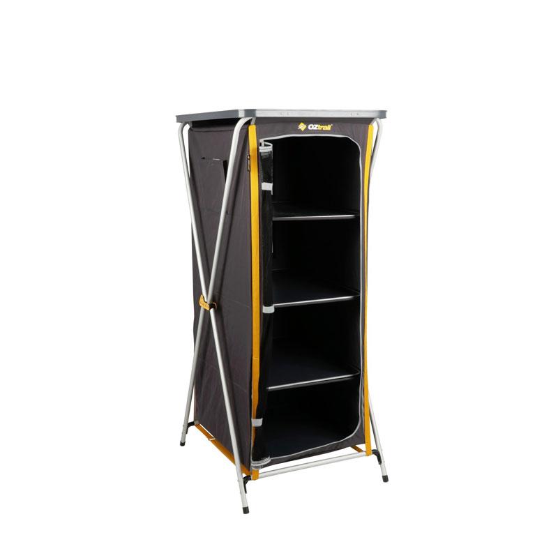 OZtrail Deluxe 4 Shelf Cupboard