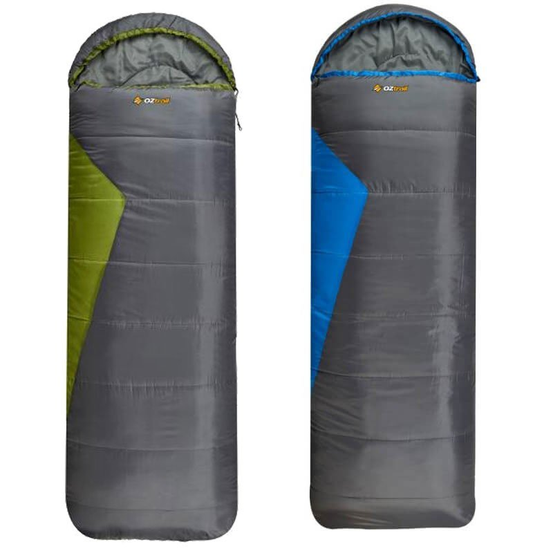 OZtrail Blaxland Jumbo Hooded Sleeping Bag