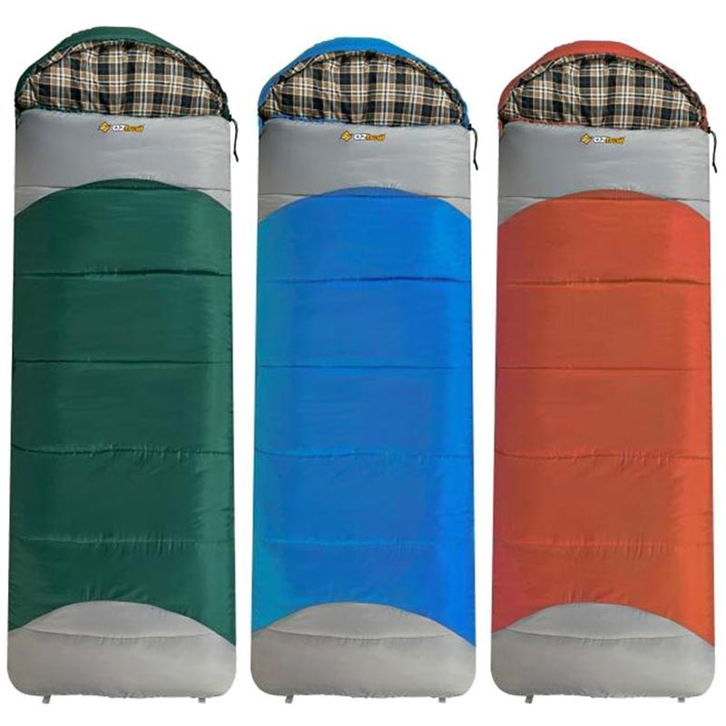 OZtrail Mountain View Jumbo Hooded Sleeping Bag