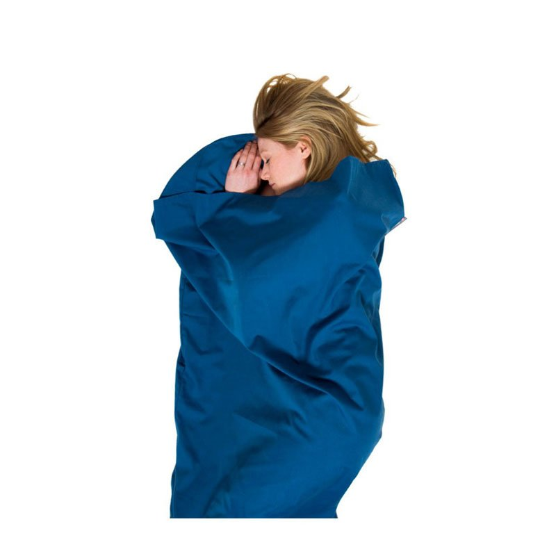 Lifeventure Polycotton Rectangular Sleeping Bag Liner