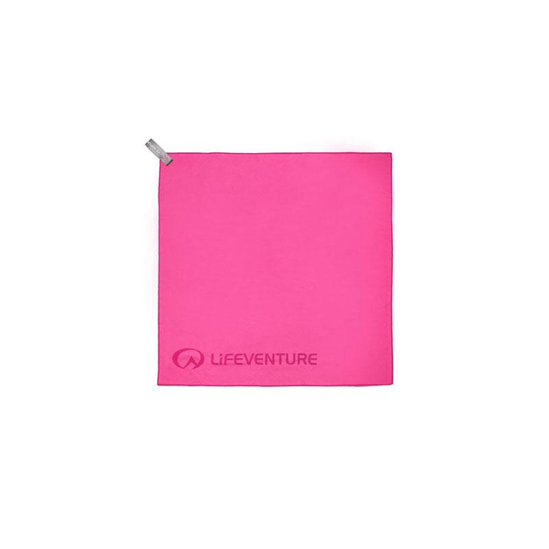 Lifeventure SoftFibre Travel Towel - Pocket Pink