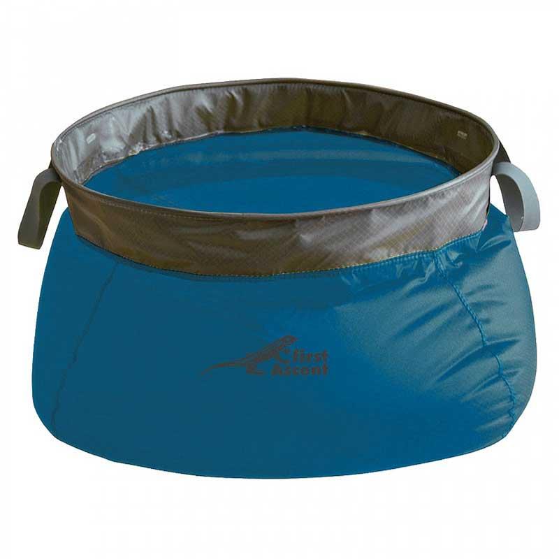 First Acsent Ultralight Folding Basin 10L Blue