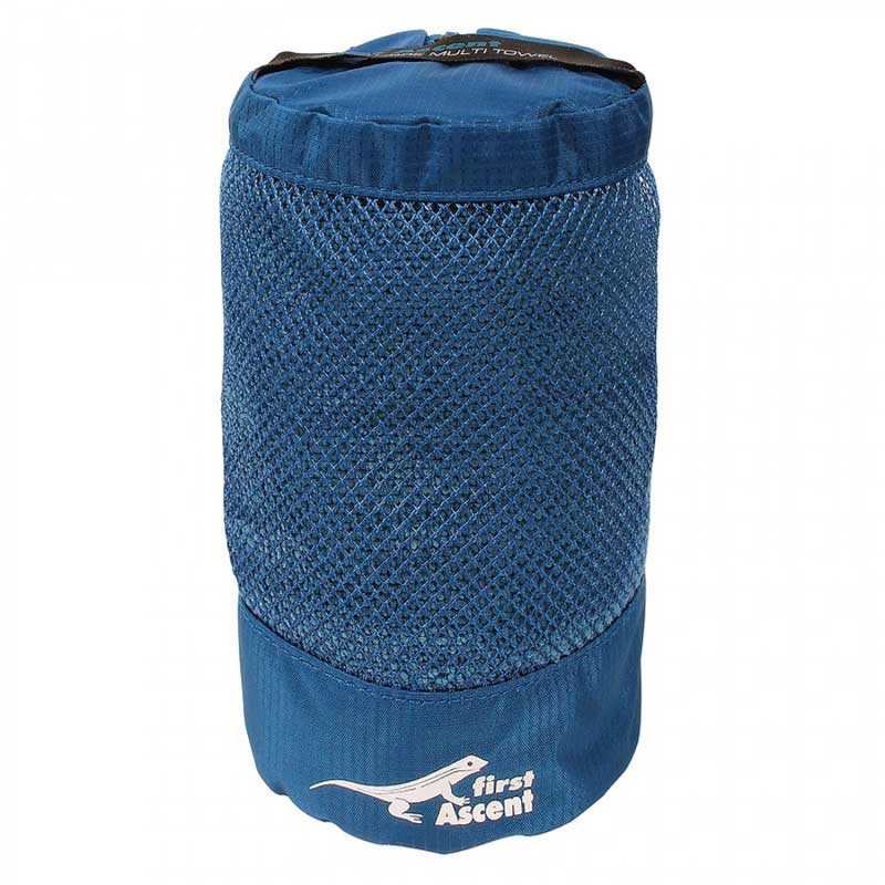First Ascent Multi Towel OrionBlue