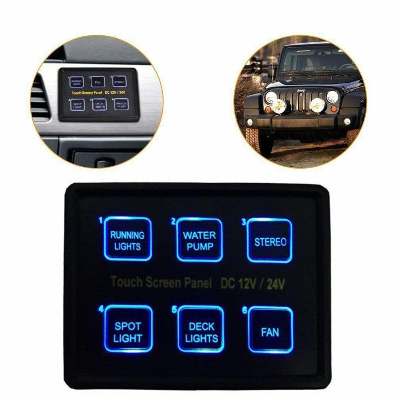 Lumeno Digital switch panel