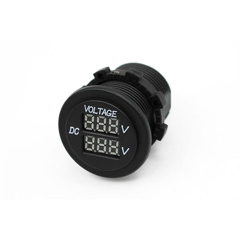 Lumeno Volt meter socket Dual
