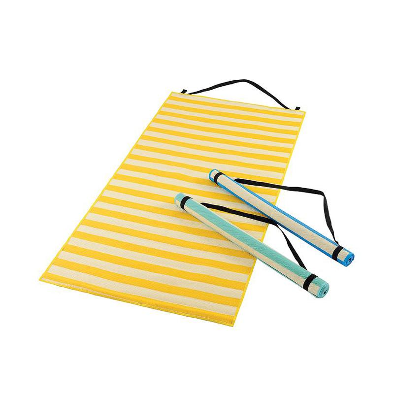OZtrail Summer Stripe Single Beach Mat