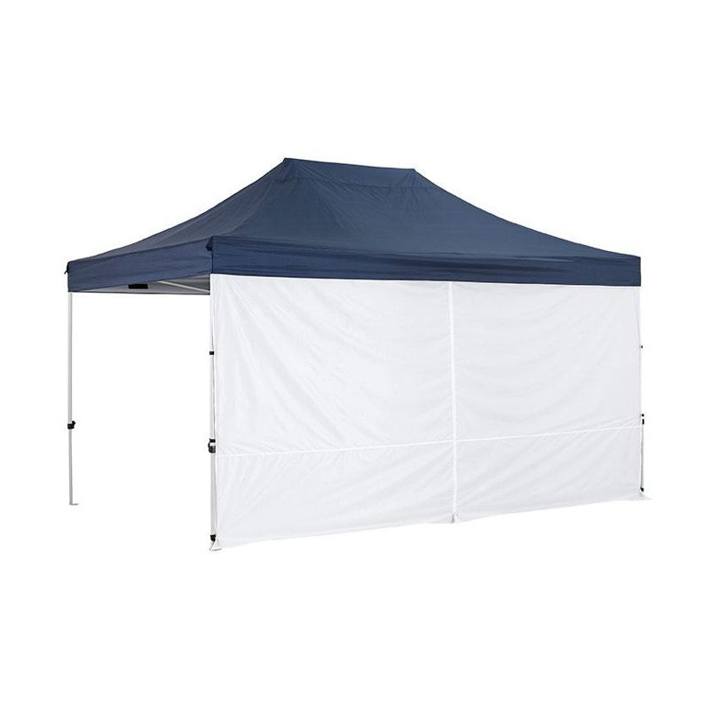 OZtrail Gazebo Solid Wall With Centre Zip 4.5m