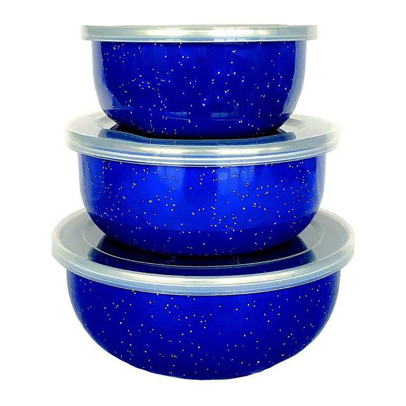 Afritrail Enamel Storage Bowl Set