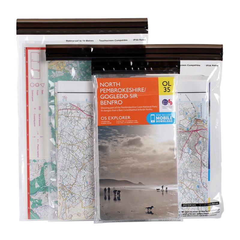 Lifeventure DriStore Loctop Bags Maps