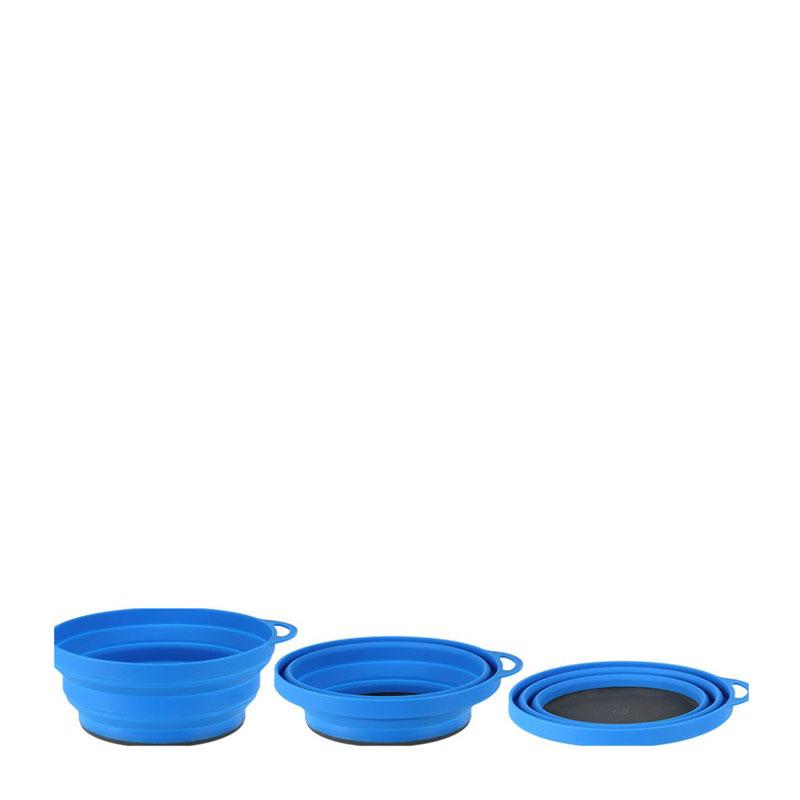 Lifeventure Ellipse Collapsible Bowl - Blue