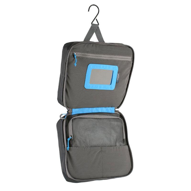 Lifeventure Large Travel Wash Bag Grey