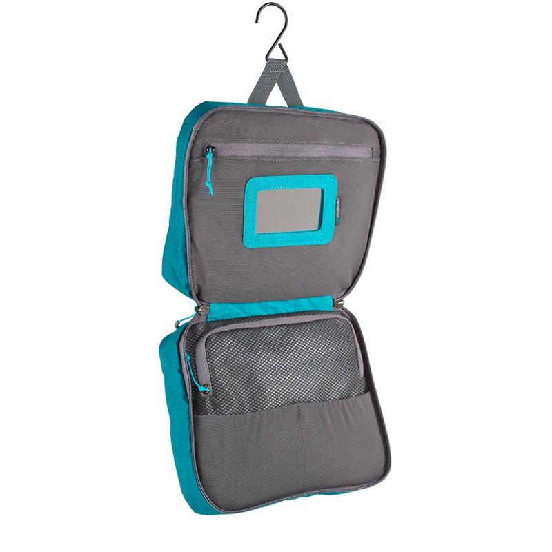 Lifeventure Large Travel Wash Bag Petrol