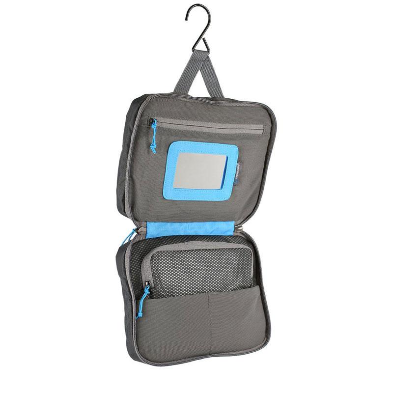 Lifeventure Small Travel Wash Bag Grey