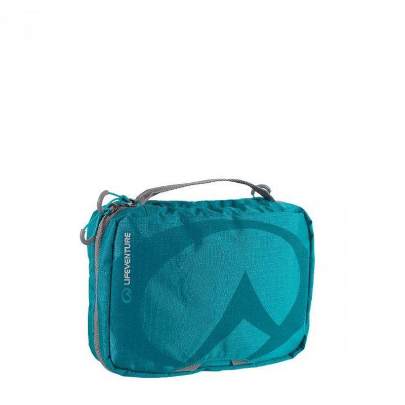 Lifeventure Small Travel Wash Bag Petrol