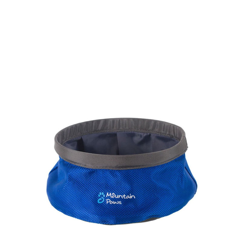 Mountain Paws Collapsible Water Bowl – Small Blue